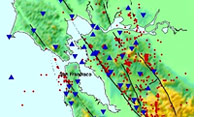 map of Bay Area faultlines