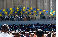Convocation at the Greek Theatre