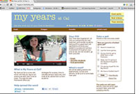 My Years at Cal homepage