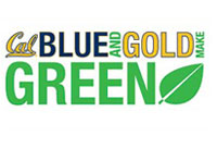 Blue, Gold and Green poster