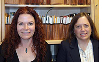 EARC researchers Karin Mac Donald and Bonnie Glaser