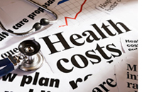 Health costs graphic