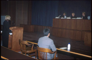 moot court hearing