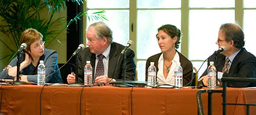 panel at forum