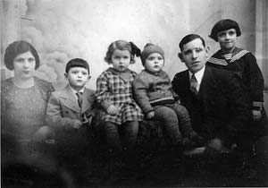 Chaim Harry Fass with lost family