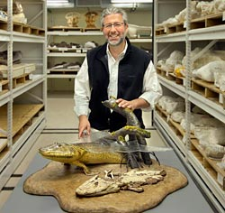 Hitchcock Lecturer Neil Shubin and Tiktaalik