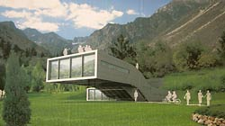 cantilever hut design