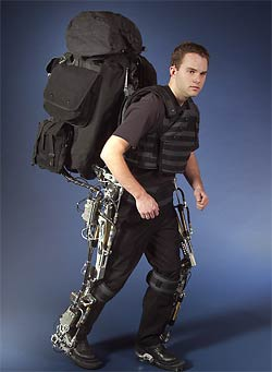 Berkeley Lower Extremity Exoskeleton (BLEEX)