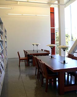 Music library interior