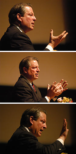 Al Gore at Zellerbach Hall
