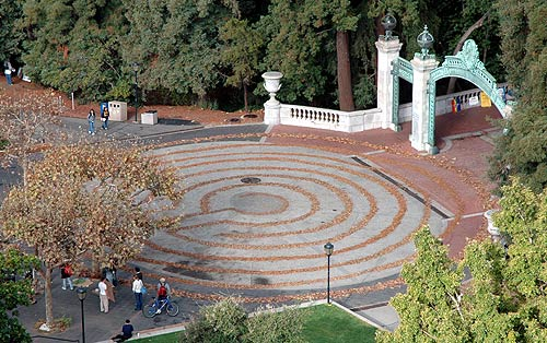 Attractive Labyrinth At Sather Gate