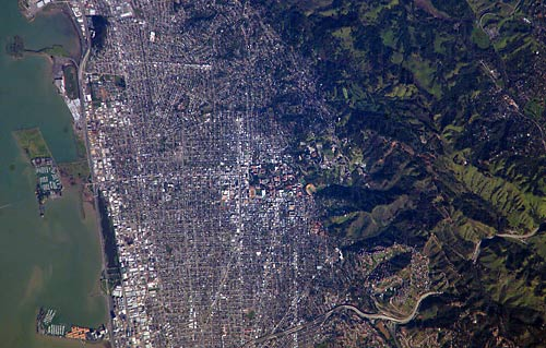 Berkeley from space