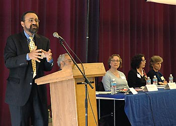 Christopher Edley addresses diversity forum