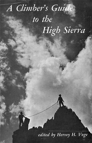 Book cover for Climber's Guide to the High Sierra