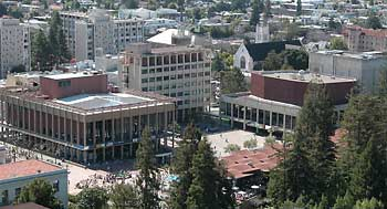 UC Berkeley student center complex