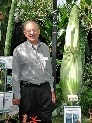 Paul Licht and 'corpse flower'