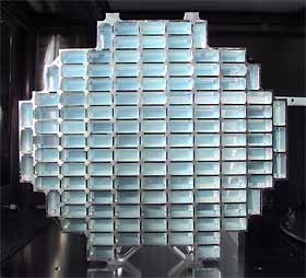 Aerogel array