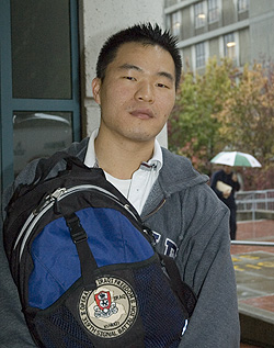 Jae Jin Yi, fourth-year economics major