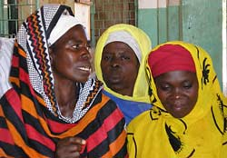 Traditional midwives taking part in misoprostol study