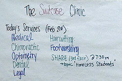 Suitcase Clinic student volunteers are changing the world