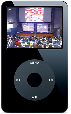 Berkeleylecture on iPod