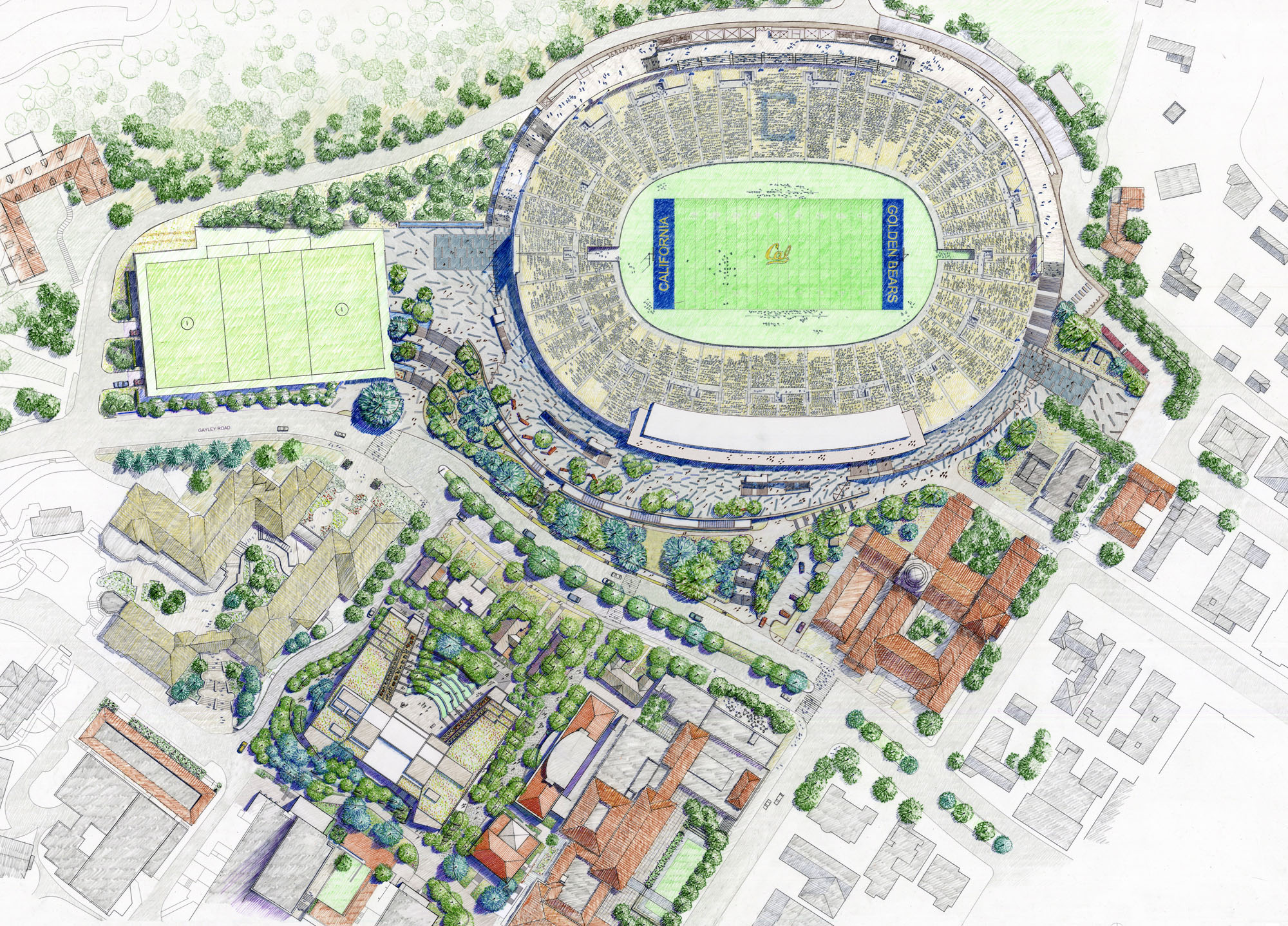 Uc berkeley eir on southeast campus projects released Site plan design