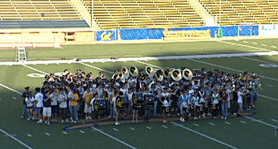 Cal Band Reenacts Big Bang