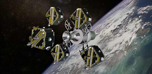 THEMIS satellites released into space