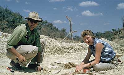 Clark and Betty Howell in Tanzania