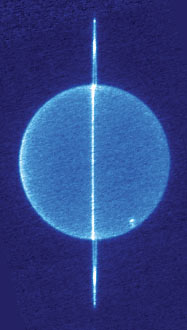 dark side of the rings of Uranus