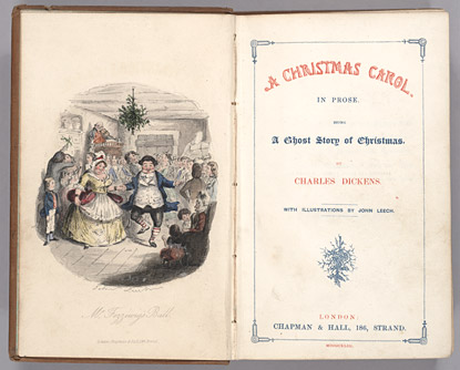Frontispiece of A Christmas Carol