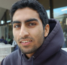 Rishi Malhotra, political science major