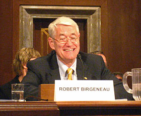 Chancellor Birgeneau testifies before Senate committee