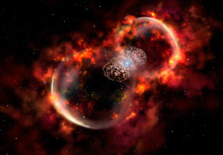 fast blast wave from Eta Carinae's 1843 eruption