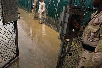 US troops at GuantanamoBay detention center