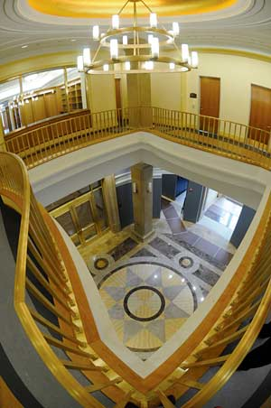 rotunda in Bancroft Library