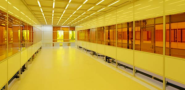 Cleanroom at new CITRIS building
