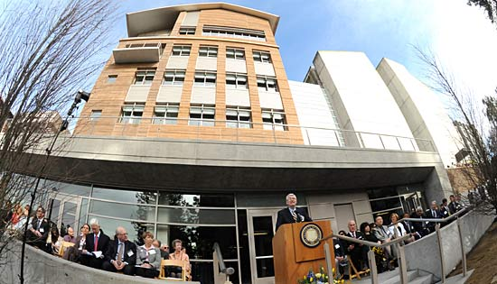 Chancellor Birgeneau at CITRIS building dedication