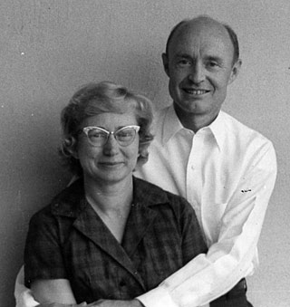 Jane and Kermit Wiltse in 1965