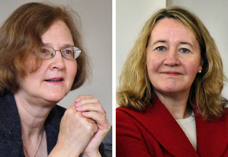 Elizabeth Blackburn and Carol Greider