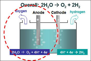 diagram of catalyst  for energy conversion