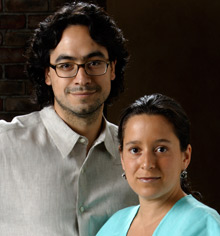 Roberto Hernández and Layda Negrete