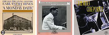 Earl Hines album covers