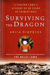 "Bookcover for ""Surviving the dragon"""