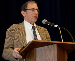 Warren Hellman defended university athletics