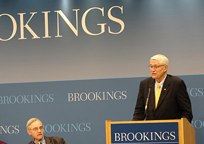 Chancellor Birgeneau at Brookings Institution