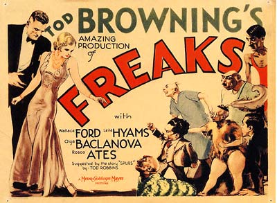 Poster from the movie Freaks