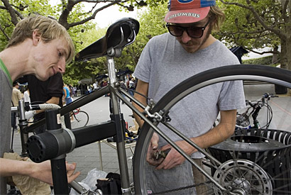 At the heart of campus, BicyCal opens its new 'hub'