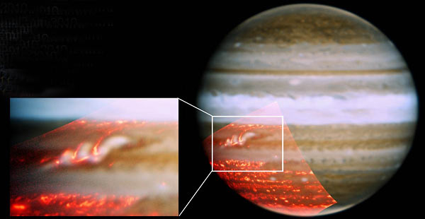 Gemini North Telescope image of Jupiter