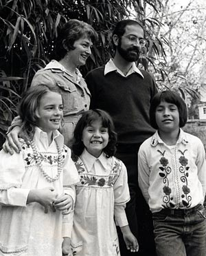 The Vitale family in Ecuador